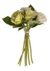 EverGreen Kytica 7 ružových pukov výška 22 cm žltá