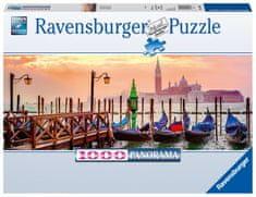 Ravensburger Puzzle 150823 Gondolák Velencében 1000 darabos Panoráma