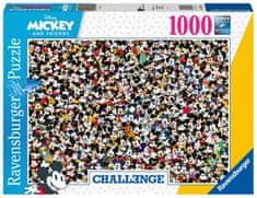 Ravensburger 167449 Challenge puzzle Disney és barátai 1000 darabos