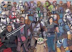 Ravensburger Puzzle 167708 Star Wars: Baby Yoda 1000 darabos