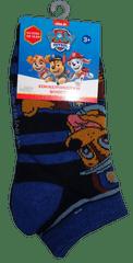 Nickelodeon Chlapecké modré nízké ponožky s pejsky Paw patrol.