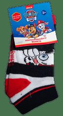 Nickelodeon Chlapecké bílé nízké ponožky s pejsky Paw patrol.