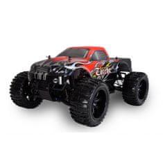 Amewi Trade TORCHE MonsterTruck 4WD, 1:10, plně proporcionální, olejové hliníkové tlumiče, RTR