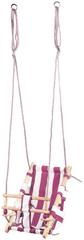 ST LEISURE EQUIPMENT Hojdacka LEQ FUMIKO, 36x24x45 cm, detská, tkanina/drevo, ružová