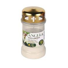 Bolsius Napln bolsius Angela 36HD biela, 35 h, 148 g, olej