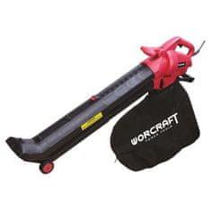 Worcraft Fukar Worcraft VB30-45, 45 lit, 3000W, + vysávač lístia, elektrický, 2in1