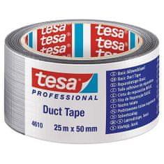 Tesa Páska tesa® BASIC Duct Tape, strieborná, textilná, 50 mm, L-25 m