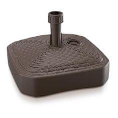 Prosperplast Stojan MPKR, hnedý, 390x390 mm, PVC, na plážový slnečník/dáždnik 20-26 mm