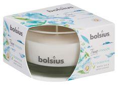 Bolsius Sviecka bolsius Jar True Moods 50/80 mm, In balance (biely čaj a listy mäty)