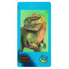 Dino World Kifestőkönyv | Miniblokk 3D hatással , Kék blokk - T-rex