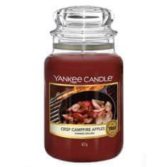 Yankee Candle Gyertya egy üveg Yankee gyertyában, Tűzoltott alma, 623 g