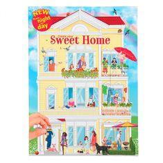 Create Your Készítse el édes otthonát, Matricákkal