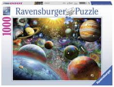 Ravensburger Puzzle 198580 Planetárium 1000 darab