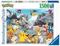 Ravensburger Puzzle 167845 Pokémon 1500 dielikov