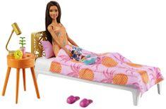 Mattel Barbie Pokój i lalka - Sypialnia