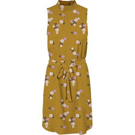 Vero Moda Női ruha VMFALLIE SMOCK 10233520 Chai Tea (Méret M)