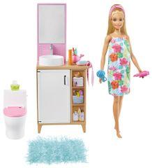 Mattel Barbie Pokój i lalka - Łazienka