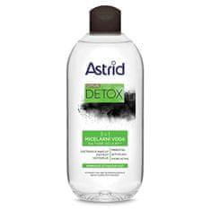Astrid 3-w-1 Miclear Water dla skóry normalnej i tłustej Citylife Detox 400 ml