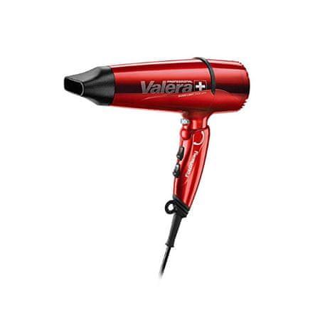 Valera Könnyű professzionális hajszárító, összecsukható fogantyúval Swiss Light 5400 Fold Away Ionic Red