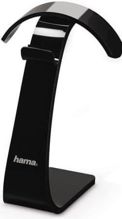 Hama Fejhallgató állvány, fekete