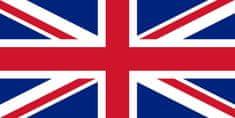 Vlajky.EU Velká Británie vlajka - 30 x 45 cm - tunel