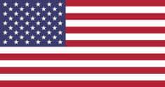 Vlajky.EU USA vlajka - 30 x 45 cm - tunel