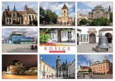 tvorme pohľadnica Košice b48