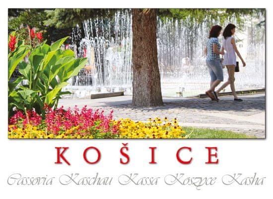 tvorme Košice - 10 pohľadníc (leporelo)