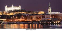 tvorme pohľadnica panoráma Bratislava b58