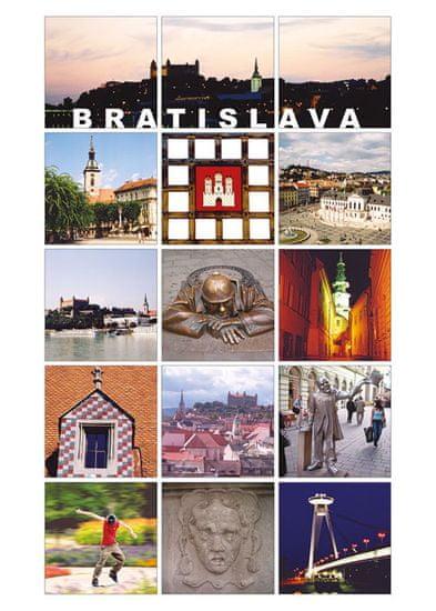 tvorme pohľadnica Bratislava I
