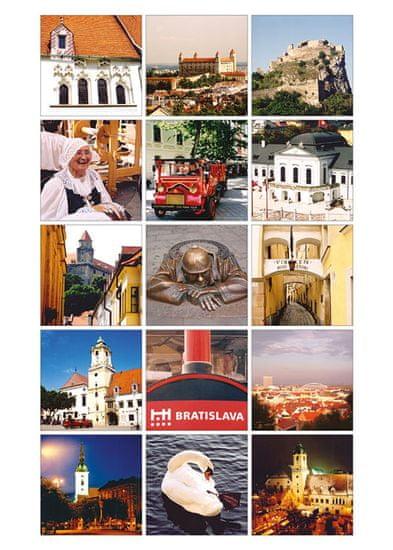 tvorme pohľadnica Bratislava V