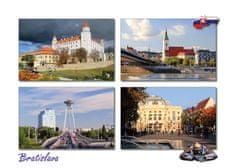 tvorme pohľadnica Bratislava b116