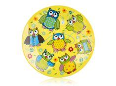 Banquet Tanier dezertný (detský plytký) OWLS 20cm (Veselé sovičky)