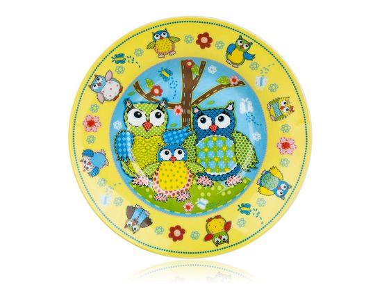 Banquet Tanier hlboký detský OWLS 20cm (Veselé sovičky)