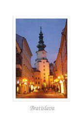 tvorme pohľadnica Bratislava XVII