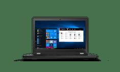 Lenovo ThinkPad T15g prenosnik, i7-10750H, 32/512 GB, FHD, RTX2070, W10P (20UR000HSC)