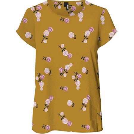 Vero Moda Női póló VMFALLIE 10233514 Chai Tea NEWFALLIE (Méret XL)
