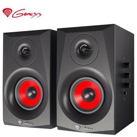 Genesis Helium 400BT 2.0 stereo zvočniki, 40 W, Bluetooth