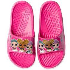 """Eplusm Lány papucs """"LOL"""" - sötét rózsaszín"""