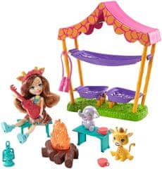 Mattel Enchantimals Táborozni megyünk Játékkészlet