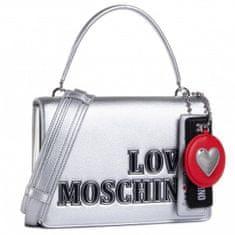 Love Moschino Dámská kabelka LOVE MOSCHINO, stříbrná - UNI