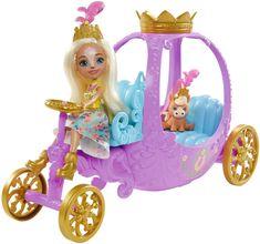 Mattel Enchantimals Királyi hintó