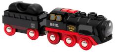 Brio WORLD 33884 Parna lokomotiva sa spremnikom za vodu na baterije