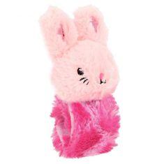 Princess Mimi Ohebný reaktivní pásek s postavičkou , Růžový s králíčkem