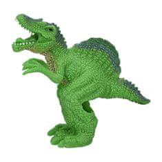 Dino World Prstová loutka , Spinosurus - světle zelený
