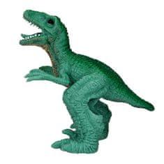 Dino World Prstová loutka , Velociraptor - tmavě zelený