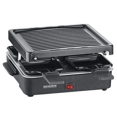 SEVERIN RG 2370 Raclette grill kompakt, RG 2370 Raclette grill kompakt