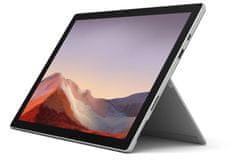 Microsoft Surface Pro 7 prijenosno računalo, platinasto (VAT-00035)