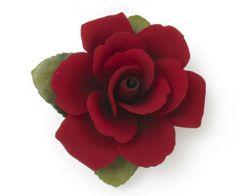 Napoleon ITA Porcelánová ruža na základni 1710/17