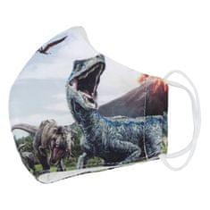 Delami Dětská rouška s dinosaury, velikost S